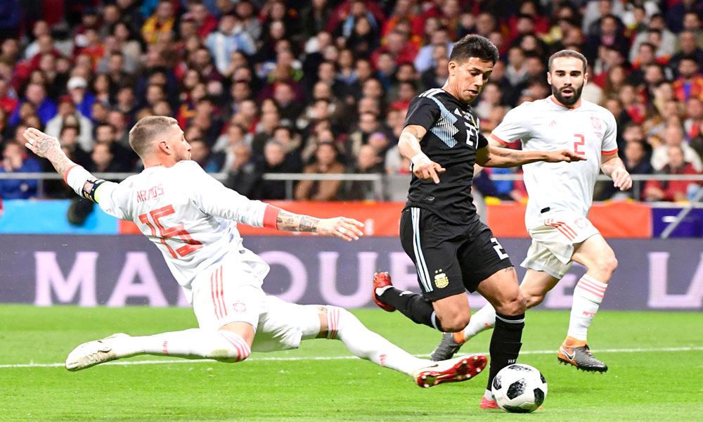 Argentina perdió 6 a 1 con España — Papelón Mundial