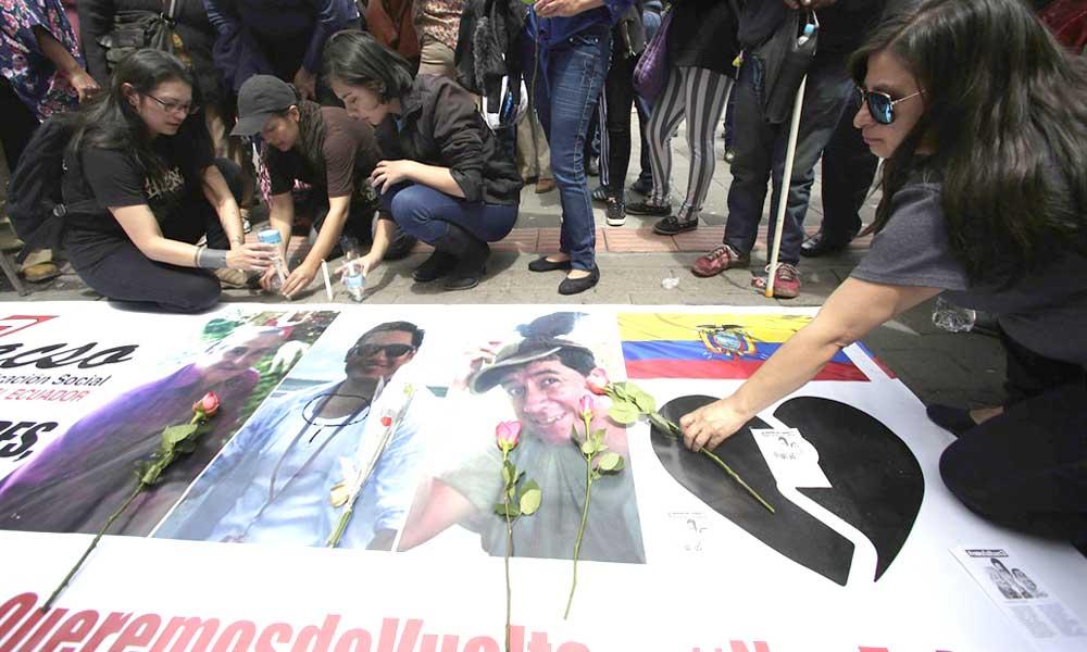 Detienen a 43 personas vinculadas al secuestro de periodistas — Ecuador