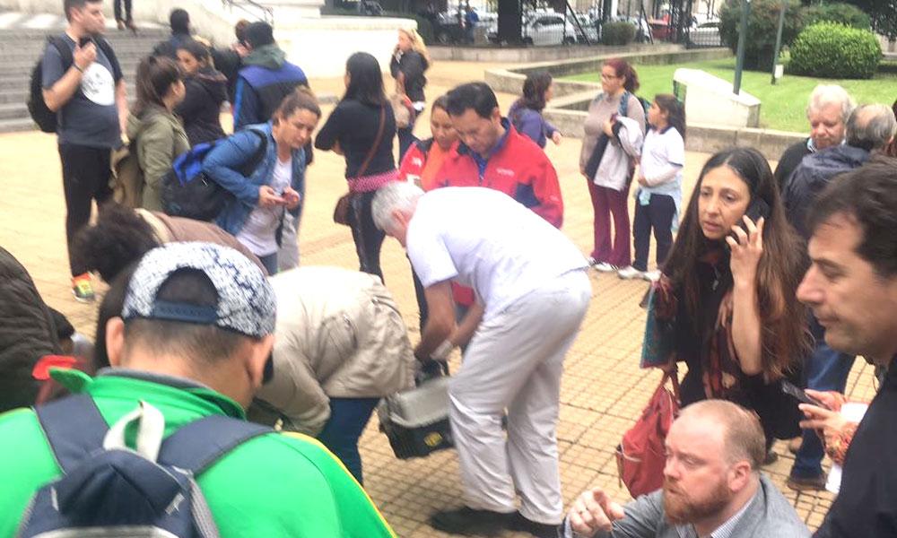 Balearon a un hombre en el Banco Provincia de La Plata — Salidera