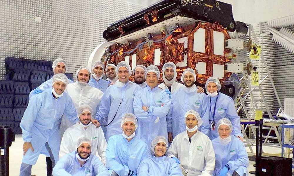 El satélite fabricado en Argentina será lanzado este domingo al espacio