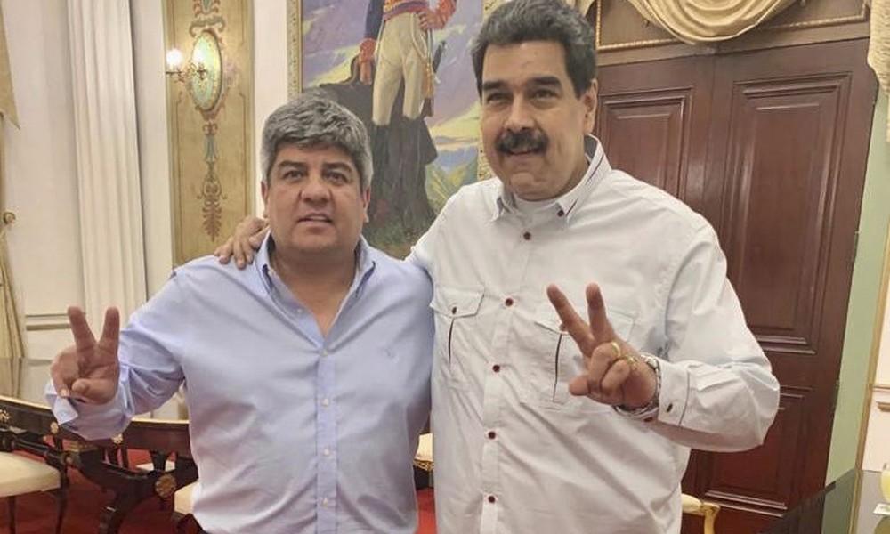 Pablo Moyano a Nicolás Maduro: