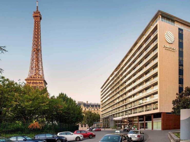 La Deslumbrante Vista Desde El Hotel Donde Diego Schwartzman Se Aloja En Paris