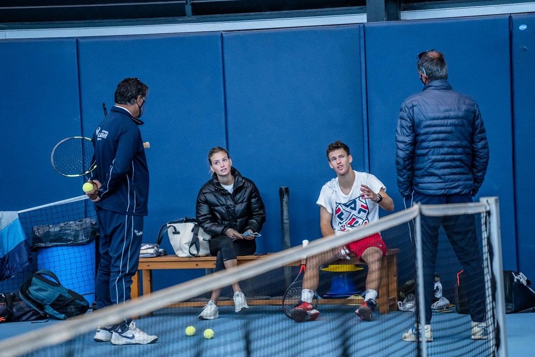 El Peque Schwarztman, un puesto abajo en el ranking ATP